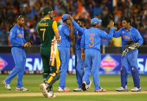 Modi and Pranab congratulate Indian cricket team after victory over South Africa