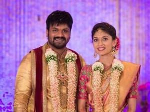 Manchu Manoj got engaged to Pranathi in Hyderabad on March 4