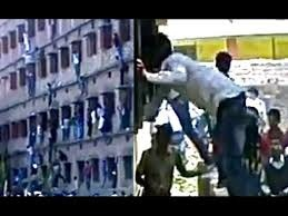 Mass copy during matric exams in Bihar