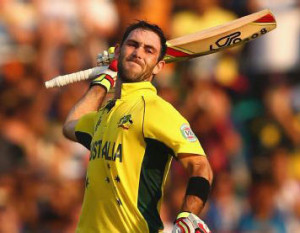Maxwell's Century helps Australia to 64-run win
