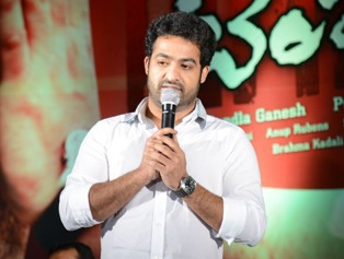 Jr NTR Temper Success Meet