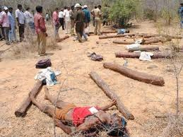 NHRC recommends CBI probe into Chittoor encounter where 20 alleged smugglers were killed