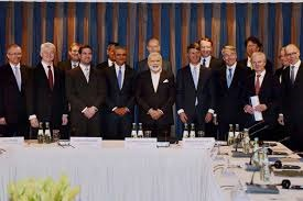 Modi meets German CEOs to boost business ties with India
