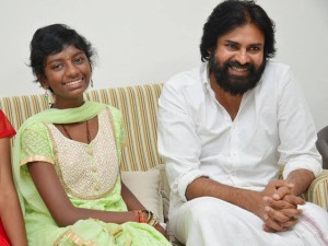 Pawan Kalyan Spends Time With Fan Who Recovered From Brain Tumor