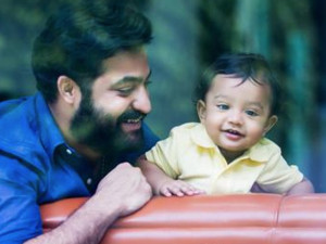 Jr NTR Celebrates Birthday by Posting 10-Month-Old Son's Pictures on Twitter