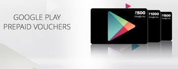 Google Play launches prepaid vouchers in India, starting at Rs 500