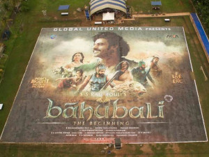 Guinness World Records Approves Baahubali Poster