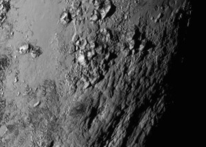 NASA releases the first close-up image of Pluto