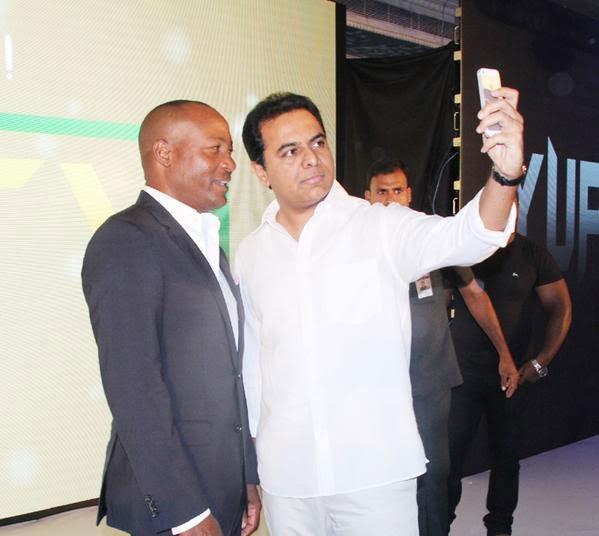 KTR's Selfie with Brianlara