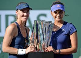 Sania Mirza-Martina Hingis in doubles semis of Wuhan Open