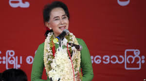Aung San Suu Kyi party says on track to win over 70% of seats in Myanmar poll