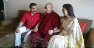 Meeting With Dalai Lama Was purposeful: Kamal Haasan