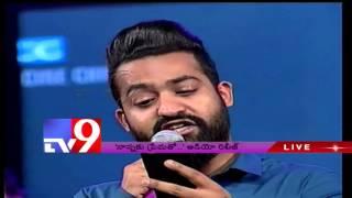 Jr NTR's speech at Nannaku Prematho Audio launch