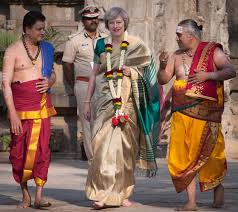 British PM in Traditional Look